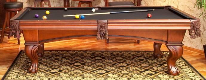 9 foot pool table 2